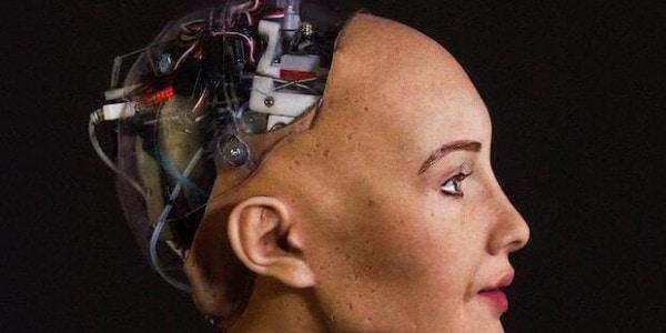 SingularityNET - Roboter Sophia auf Blockchain Basis