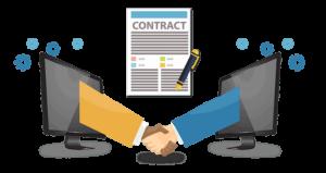 Smart Contracts über Ethereum Blockchain