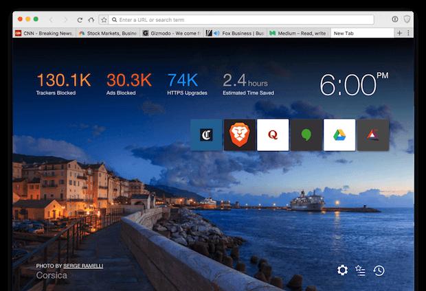 Abbildung des Brave Browser
