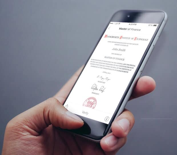 MIT Diplom - Blockchain App