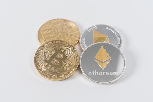 Ethereum und Bitcoin