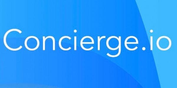 Concierge.io Logo - Reisebuchung über Blockchain