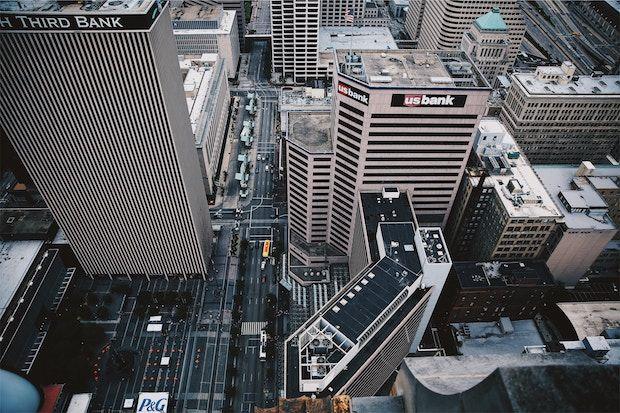Foto von Bankgebäuden