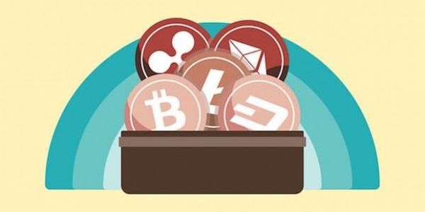 Bitcoin, Litecoin, Ethereum, Dash, Ripple Wallet