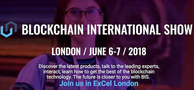 Blockchain International Show 2018 - London