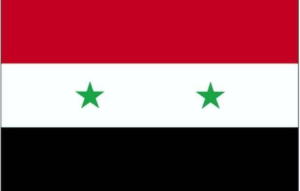 Flagge von Syrien