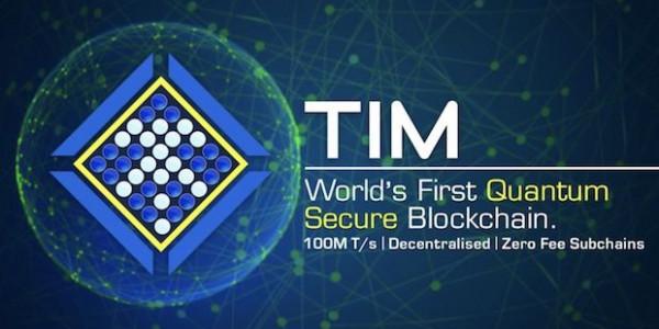 TIM Quantum Blockchain