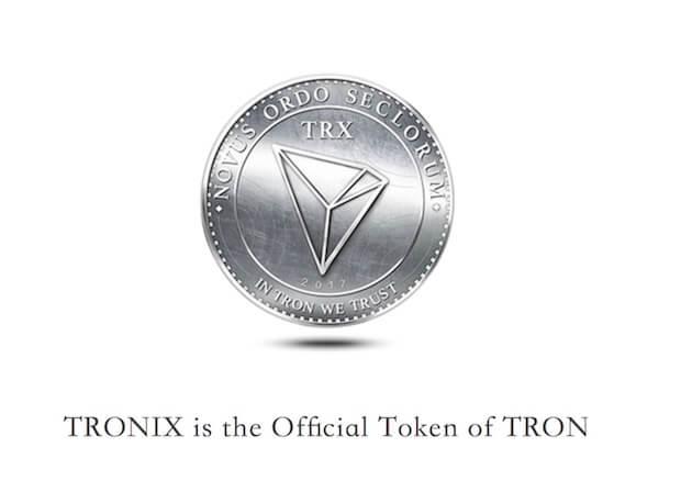 Tron Token - Tronix (TRX)