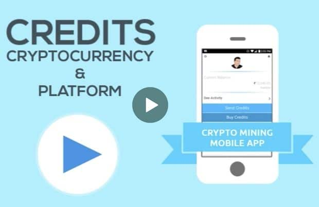 credits.energy Mobile App