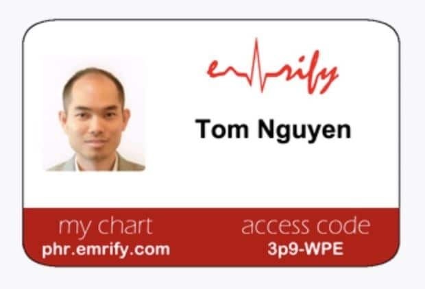 Emrify ID Card
