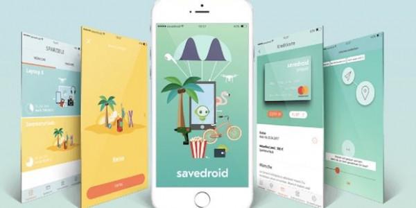 savedroid - mobile Blockchain App