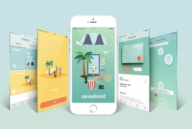savedroid - mobile Blockchain App