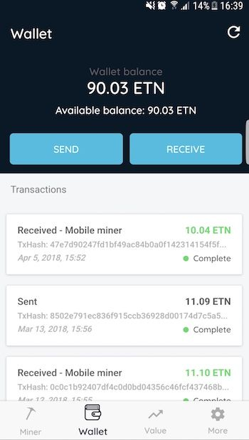 Electroneum - Mobile Android App