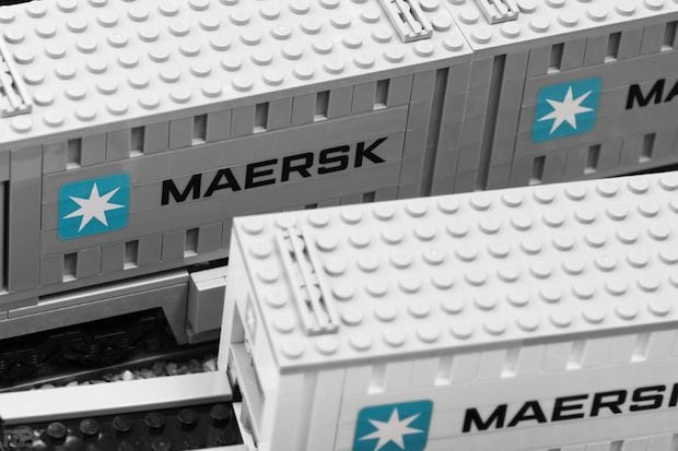 MAERSK Container Abbildung