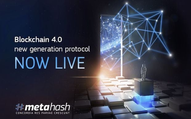 MetaHash Blockchain 4.0