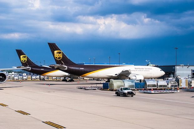 UPS Flugzeug