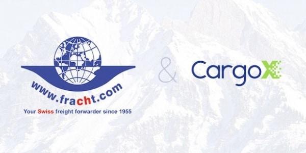 Fracht - CargoX Blockchain Partnerschaft