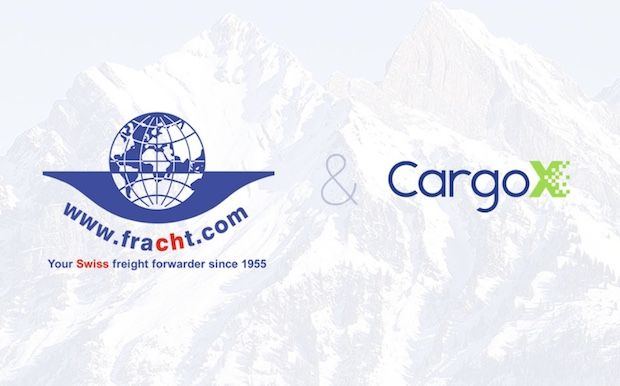 Fracht - CargoX Blockchain Partnerschaft