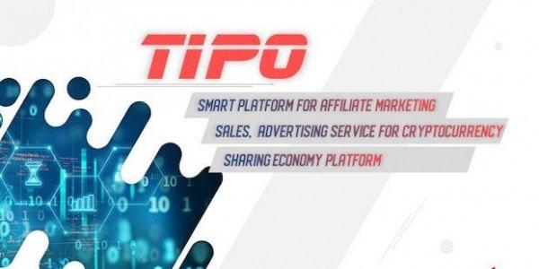 TIPO Blockchain E-Commerce Plattform