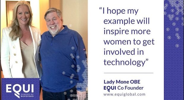 Steve Wozniak EQUI Global