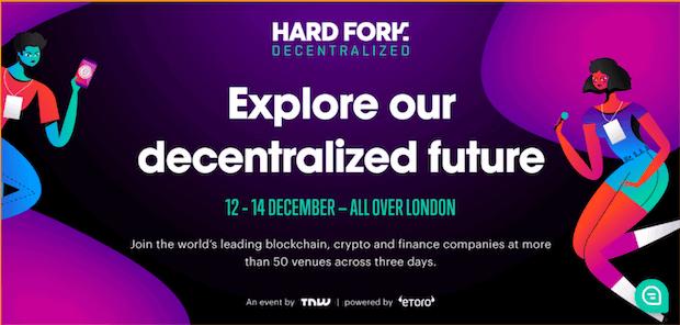 Hard Fork Decentralized, London 2018