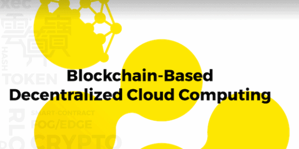 iExec | Cloud Computing Plattform