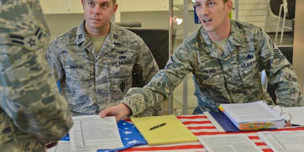US-Soldaten bei der Wahl