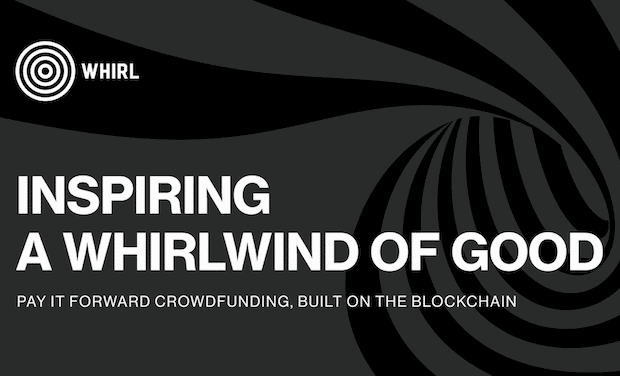 WHIRL - Blockchain Crowdfunding Plattform
