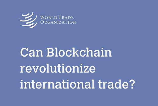 WTO - Blockchain Studie