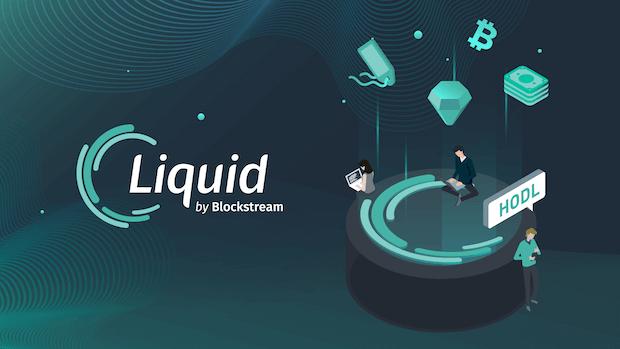 Liquid by Blockstream Logo