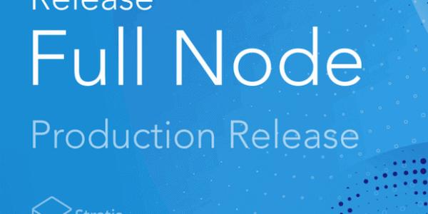 Stratis C# Full Node Release