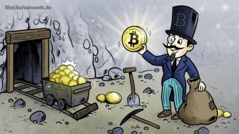 Mining von Kryptowährungen