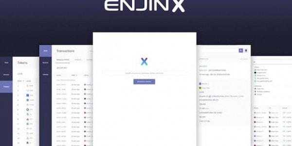 EnjinX - Ethereum Explorer