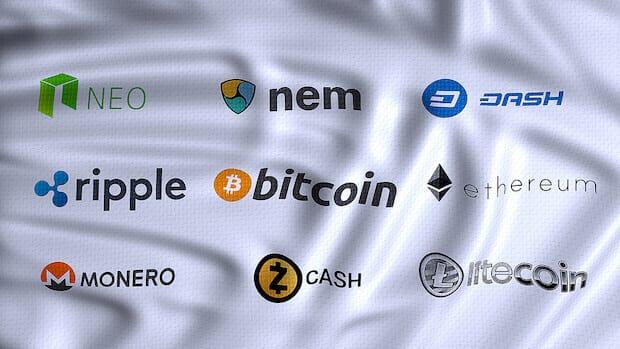 Kryptowährungen - Bitcoin, Ethereum, Ripple