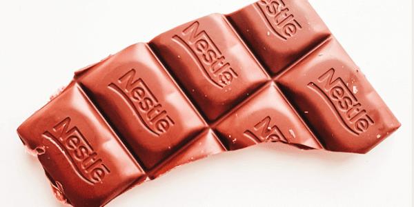 Abbildung Nestlé Schokolade