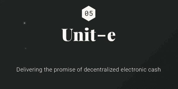 Unit-e Blockchain (Bitcoin Alternative)