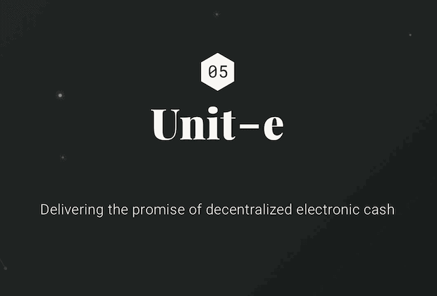 Unit-e Blockchain (Bitcoin Alternative)