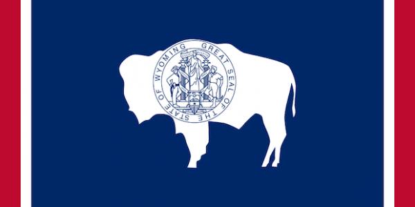 Flagge von Wyoming