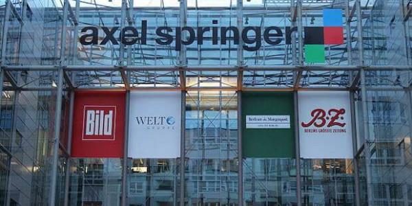 Axel Spinger Gebäude und Logo
