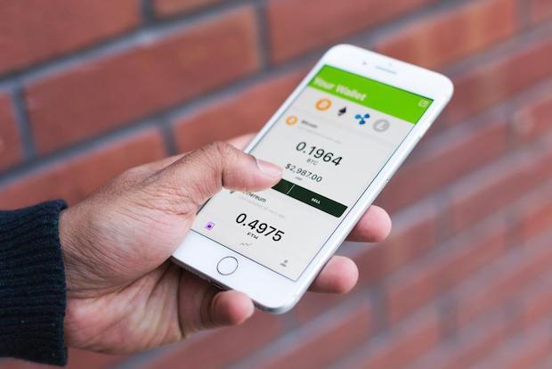 Bitcoin Kauf und Verkauf über App