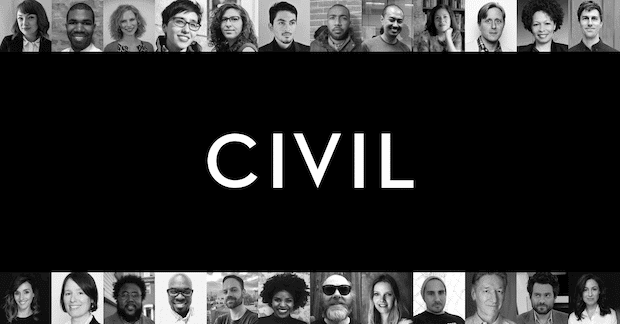 Civil - Blockchain Journalismus-Plattform