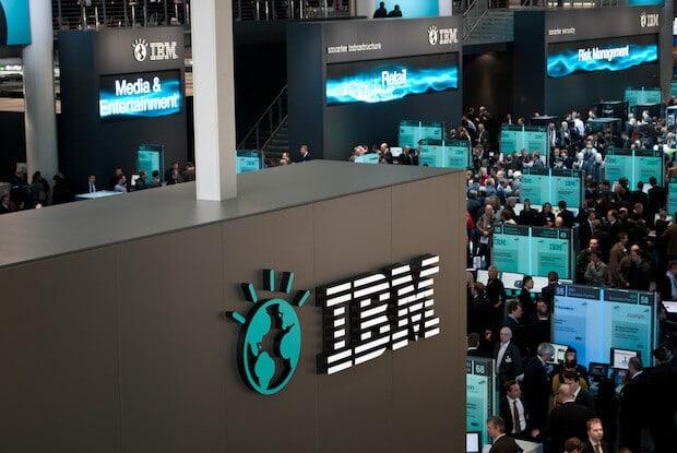 IBM Cebit Stand