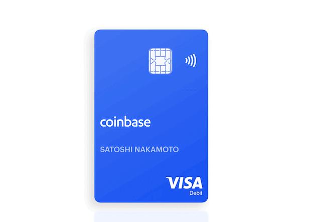 Coinbase Card - Visa Debit Card