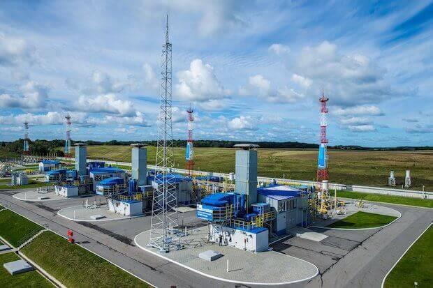 Gazprom Förderanlage Russland