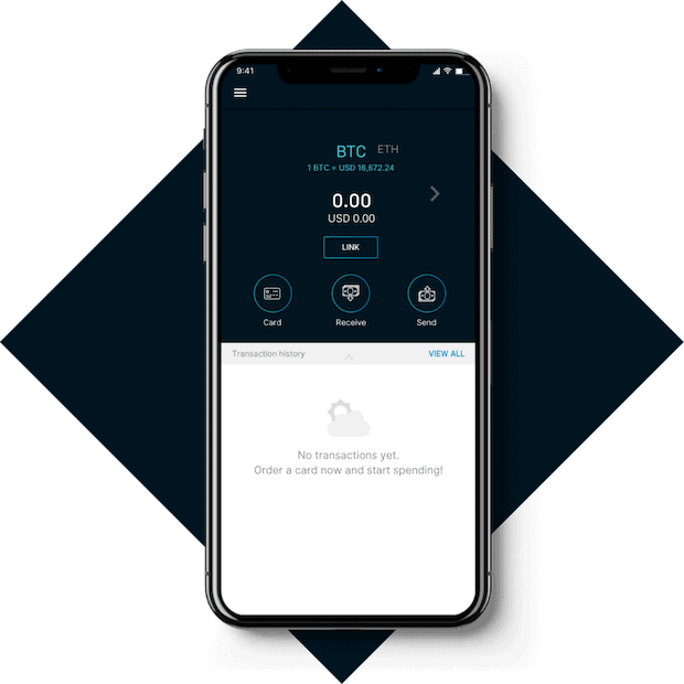 TenX Wallet für iOS und Android