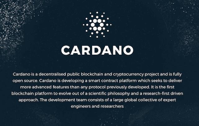 Cardano Logo @Cardano
