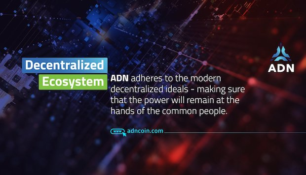 ADN - decentralized Ecosystem