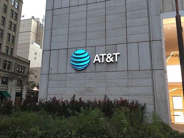 AT&T Logo Dallas