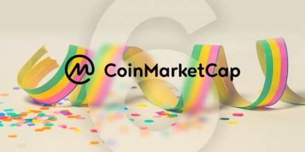 6 Jahre CoinMarketCap
