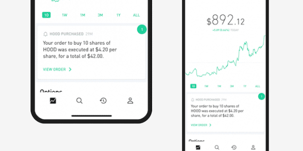 Robinhood Krypto App